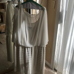 Casual wedding dress from dress barn collection